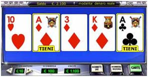 Giocare a video poker online